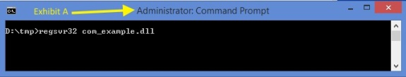 Command line illustration